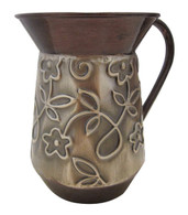 Netilat Yadayim Cup with Flowers