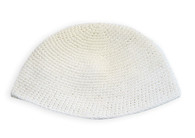 Big Kippah - Plain White