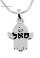 Hamsa Necklace for Prosperity
