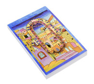 Decorative Notepad with Jerusalem and Hamsa