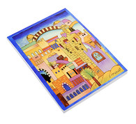 Decorative Notepad with the Old City of Jerusalem