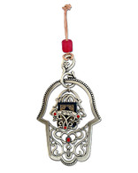 Hamsa with Book of Psalms