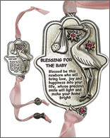 Blessing for the Baby Girl Hamsa