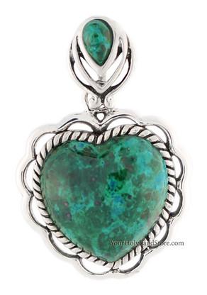 Eilat Stone Heart Pendant