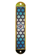 Car Mezuzah with Stars of David