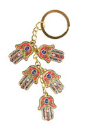 Key Chain with Five Hamsas