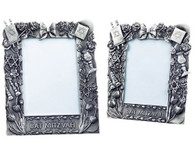 Bat Mitzvah Pewter Picture Frame
