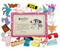 Colorful Bat Mitzvah Picture Frame