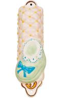 Baby Shoe Pink Mezuzah