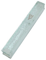 Thick Glass Mezuzah Case