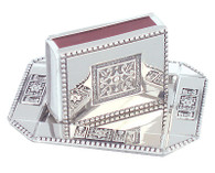 Matchbox Holder with Stars of David