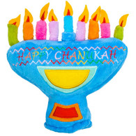 My First Chanukah Menorah with Candles