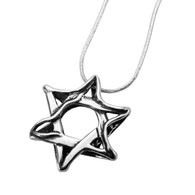 Star of David Necklace - Handmade in Israel