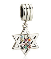 Star of David with Hoshen Charm