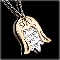 Hamsa Necklace with Protection Praye