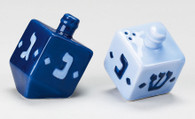 DREIDEL SALT & PEPPER SHAKERS