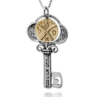 Tikun Klali Key Kabbalah Necklace