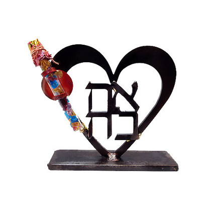 Heart Glass Shards Holder