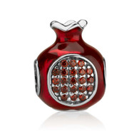 Pomegranate Charm Bead