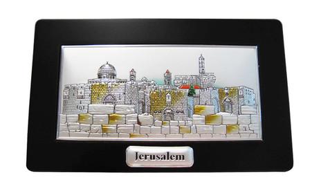 Jerusalem Framed Engraving Stand