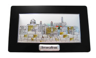 Jerusalem Framed Engraving Stand