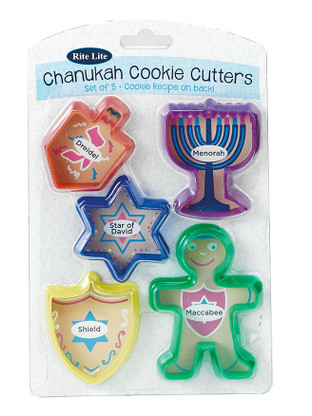 Chanukah Cookie Cutters