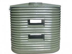 M1250L Corrugated Poly Slimline Tank
