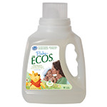 Baby Ecos Laundry Liquid, Free & Clear 50 fl. oz