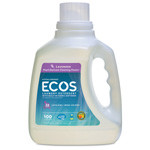 Ecos Laundry Liquid, Free & Clear 100 fl. oz