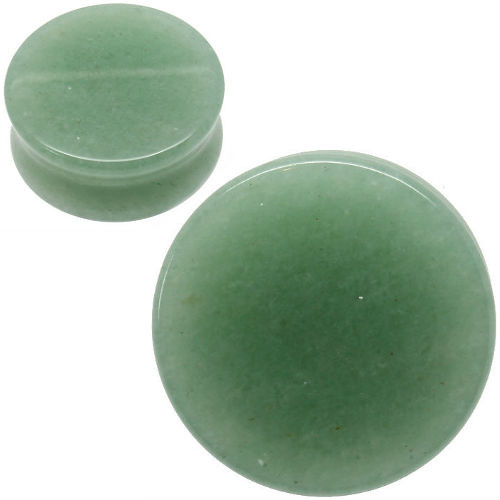 Organic Green Jade ear plugs
