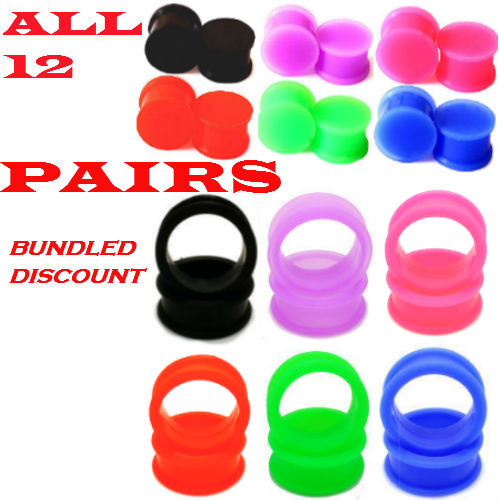 SILICONE PLUGS AND TUNNELS