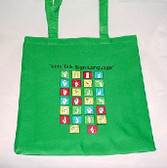 A TO Z TOTE BAG (GREEN),