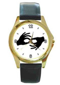 Watches Circle with  Interpreter Logo (Gold)