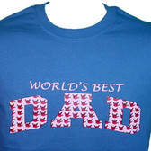 """DAD "" Sign tiny hands with ""I LOVE YOU "" T- Shirt (ADULT SIZE)"