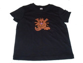 "TODDLER SHIRT TIGER WITH SIGN LANGUAGE HAND "" I LOVE YOU"""