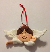 "Angel (Boy ) Christmas Ornaments Sign hand "" I LOVE YOU ""  (very light weight )"