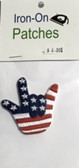 "Patches Sign Language Hand "" I LOVE YOU"" (USA HAND)"