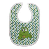 Frog Bibs (Hand Made by Deby)