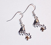 Interpreter Earrings Pair (silver)