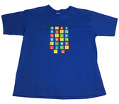 """A TO Z """" LET'S TALK SIGN LANGUAGE"""" T-SHIRT (CHOOSE COLOR SHIRT) YOUTH SIZE"""