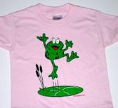 "Frog Sign Hand "" I LOVE YOU""  Adult ( PINK )"