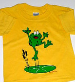 """Frog Sign Hand """" I LOVE YOU""""  ( Yellow) Adult"""