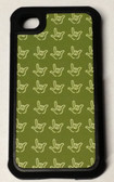 iPhone 4/4S Cover with Outline I LOVE YOU Hands (Olive)