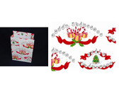 Merry Christmas Gift Bag w/Sign Language (Medium)