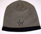 Knit Skull Cap Dark Grey,  Draw ILY (Black)
