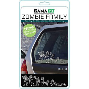 Zombie Car Stickers