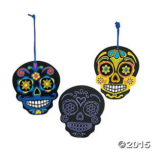Scratch & Reveal Skulls