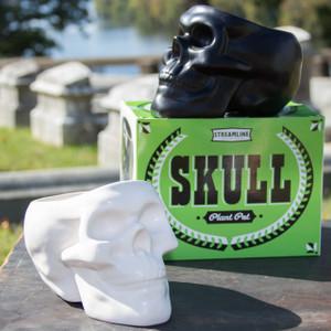 Black Skull Pot