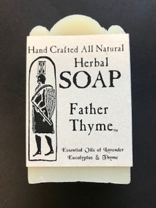 Handcrafted Herbal Soap- Father Thyme