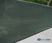 295 Series Privacy Screen - No Binding - 88% blockage (150' Rolls)